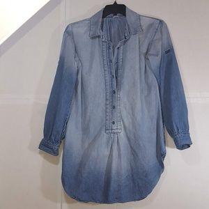 Fossil Denim Pullover Tunic